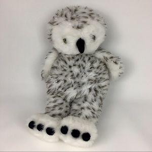Build a Bear Owl Hedwig Harry Potter Head Rotates